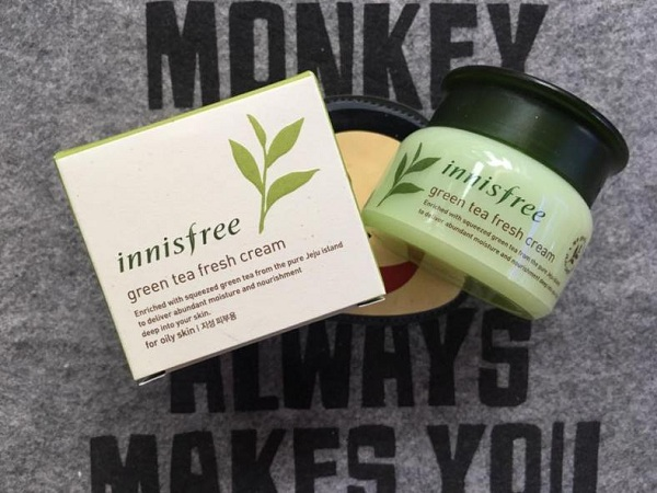 Green Tea Fresh Cream Innisfree