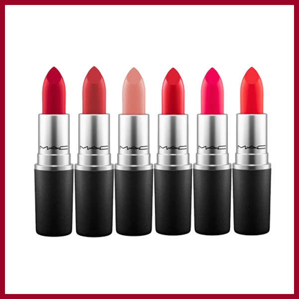 Son Mac Satin Lipstick Rouge