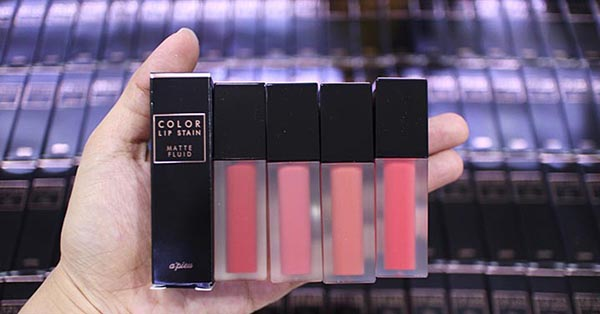Son Kem Lì Apieu Color Lip Stain Matte Fluid