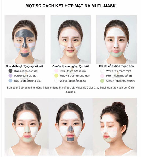 Sample Innisfree Jeju Vocalnic Color Clay Mask