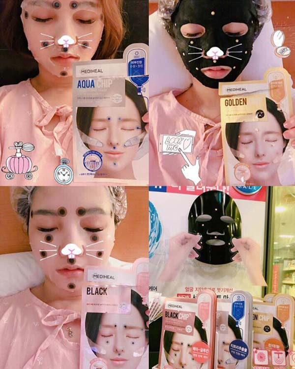 Mặt Nạ Cao Cấp Mediheal Circle Poin Mask