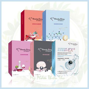 mặt nạ My beauty diary red wine mask