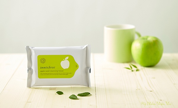 Khăn Tẩy Trang Innisfree Apple Seed Cleansing Tissue