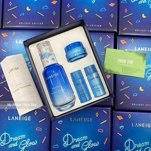 Set Dưỡng Laneige Dream And Glow Water Bank Essence EX Set