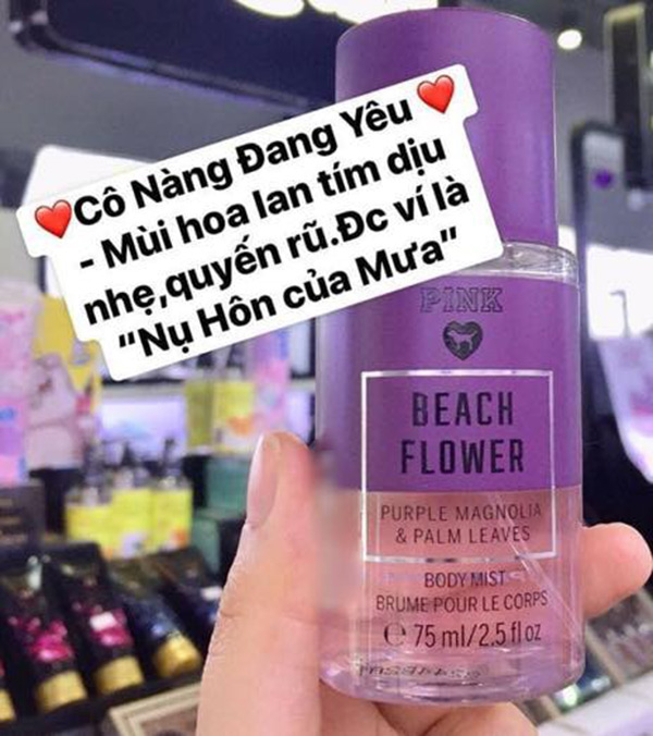 Xịt Thơm Victoria Secret PINK Mini 75ml